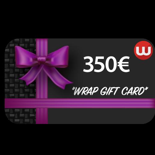 Wrap Gift Card - 350 euro